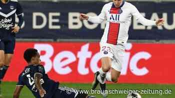 Ligue 1: PSG besiegt Bordeaux - AS Monaco kassiert Niederlage