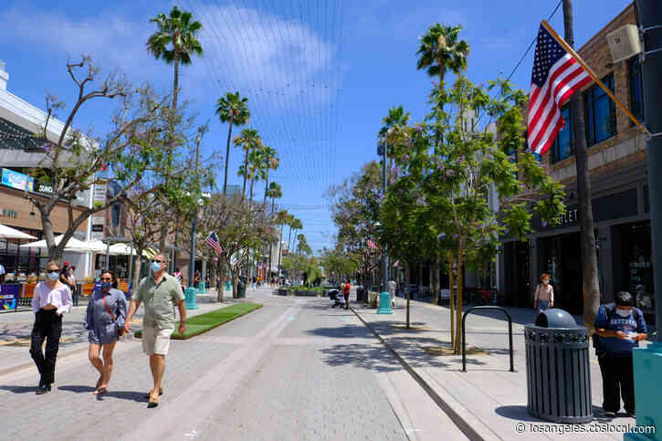 Outdoor Dining To Be Expanded Along Third Street Promenade In Santa Monica