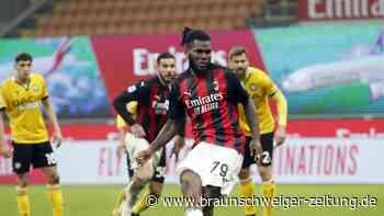 Serie A: AC Mailand wendet Heimniederlage in Nachspielzeit ab