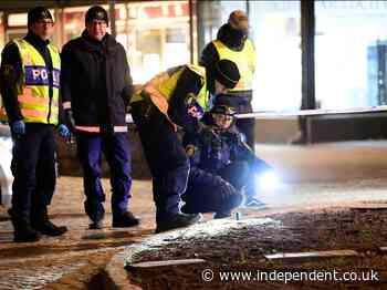 Sweden attack: Man shot by police after injuring eight people with axe