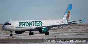Frontier Airlines says it canceled a flight because a group refused to wear masks - Business Insider