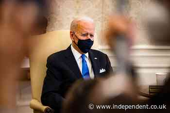 Biden urges Democrats to stick together on $1.9trn Covid relief plan as progressives grumble it's not enough