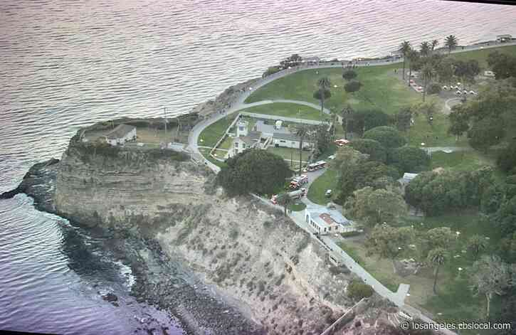 Police Say No Evidence Of Foul Play In Deaths Of 2 At Base Of Cliff In San Pedro