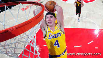 Lakers' Alex Caruso declined NBA slam dunk contest invite, per report, and is 'looking forward' to the break