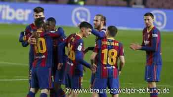 Copa del Rey: Barcelona nach Sieg gegen Sevilla im Pokalfinale