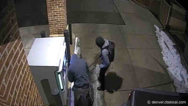 Would-Be Burglars Try To Steal ATM By Hooking Up Chain To Stolen Vehicle