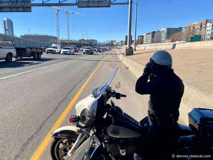 'Slow Down': Denver Police Among Agencies Tackling Excessive Speeding