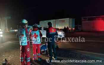 Muere adulto mayor tras ser atropellado, en Calpulalpan - El Sol de Tlaxcala