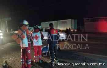 Adulto mayor pierde la vida al ser atropellado en Calpulalpan - Quadratín Tlaxcala