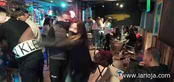 Desalojado un bar de la calle Mercaderes que superaba en 32 personas el aforo máximo de 20 - La Rioja