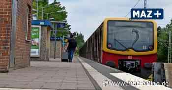 Neubau der Dresdner Bahn: Blankenfelde-Mahlow monatelang ohne S-Bahn - Märkische Allgemeine Zeitung