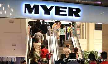 Myer enjoys MASSIVE rise in profits after receiving $51million in jobkeeper payments from government