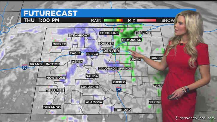 Denver Weather: Wet Weather Arrives In Colorado Tonight