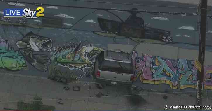 SUV Crashes Into Building In South Los Angeles