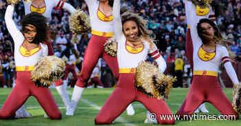Washington Football Team Will Replace Cheerleaders With a Coed Dance Team