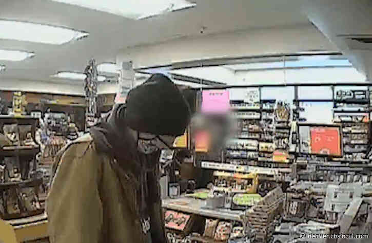 Investigators Ask For Help Identifying Arvada Gas Station Robbery Suspect