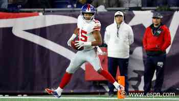 Veteran wide receiver Tate released by Giants