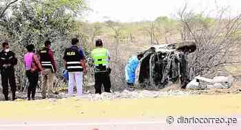 Exalcalde de Morropón muere en accidente - Diario Correo
