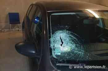 Montgeron : une voiture de police visée par un projectile, un agent blessé - Le Parisien