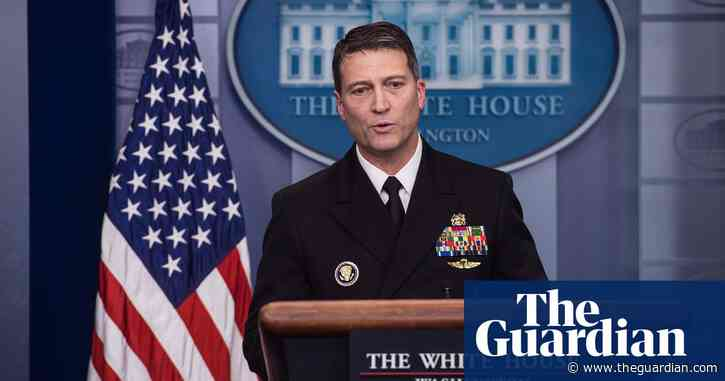 Ex-White House doctor bullied colleagues and drank on the job, report finds