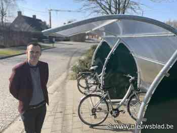 Een positief gevolg van corona: nieuwe fietsenstallingen in Zonnebeke en deelgemeenten