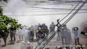 Gewalt gegen Demonstranten: Entsetzen über Tote in Myanmar - Botschaften trauern online