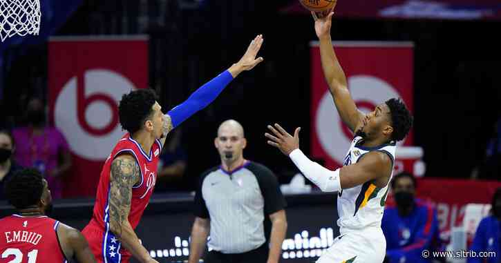 'We continually get screwed': Utah Jazz livid at referees following their overtime loss to 76ers