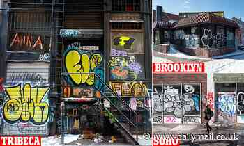 NYPD wants public's help identifying graffiti as city launches bid to paint over the vandalism