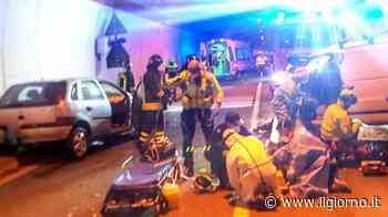 Mandello del Lario, incidente auto-furgone nel tunnel: un morto e un ferito grave - IL GIORNO