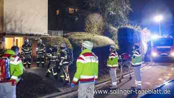 Nachbarn retten Mieterin aus brennender Wohnung