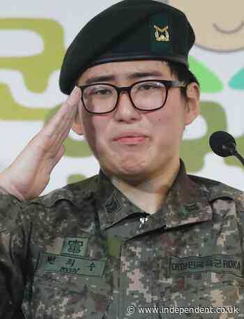 South Korea's first transgender soldier found dead after she is forced out of military