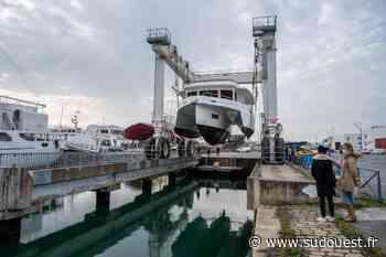La Rochelle : Neel Trimarans innove avec son premier bateau à moteur hybride - Sud Ouest