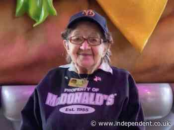 McDonalds employee turns 100 and says she has no plans to quit: 'I feel lucky'
