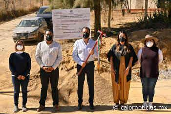 En Guadalupe Victoria, amplía Ayuntamiento de Oaxaca de Juárez red de drenaje sanitario - Calor Noticias