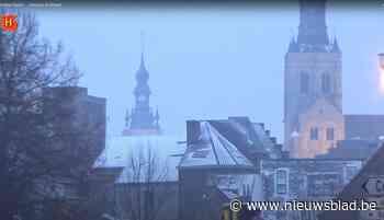 VIDEO. Drie jaar geleden sneeuwde het in Tienen