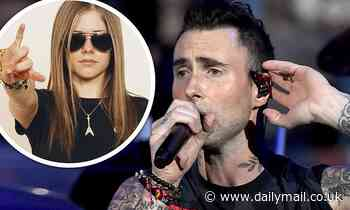 Adam Levine reveals that he plays music from early 2000s by Avril Lavigne for daughter Dusty Rose