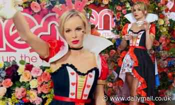 Amanda Holden transforms into the Queen of Hearts as she celebrates World Book Day at Heart FM