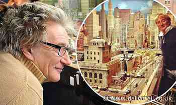 Rod Stewart 'charters seven shipping containers to bring his model railway back to the UK'