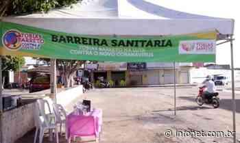 Tobias Barreto coloca barreira sanitária na divisa com a Bahia - Infonet