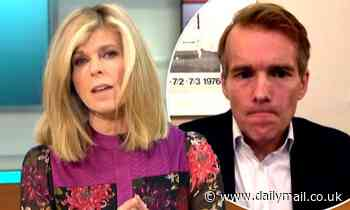 Kate Garraway tells ICU doctor 'he shouldn't feel guilty' for keeping patients away from families