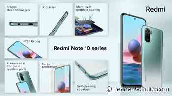 Redmi launched its much-awaited Note 10 series in India, check features and price