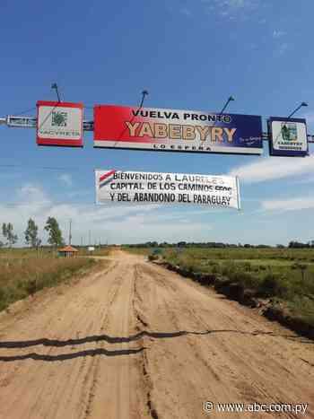 Piden mejora vial en tramo que conecta Laureles con Yabebyry - Nacionales - ABC Color