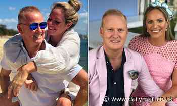 Swimmer Emily Seebohm and radio host David 'Luttsy' Lutteral's split