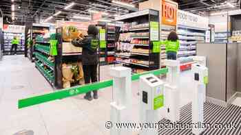 Amazon Fresh till-less grocery store opens in London