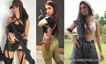 Israeli 'Queen of guns' urges all women to carry a weapon as she reveals she was raped twice