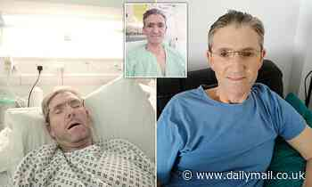 Father, 52, 'cheats death four times' during 19 stays in hospital