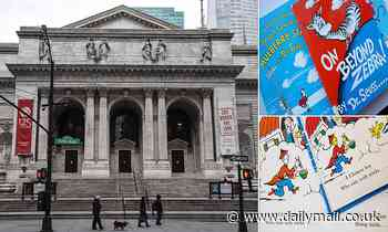 New York Public Library will still lend Dr Seuss books pulled from publication over 'racist imagery'