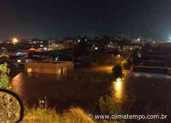Forte chuva atinge Lagoa Vermelha no Rio Grande do Sul - Climatempo Meteorologia - Notícias sobre o clima e o tempo do Brasil