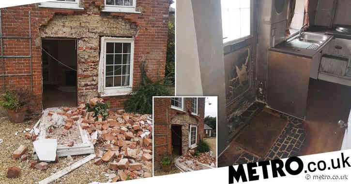 Man torched couple's 'dream home' in revenge after they outbid him for it
