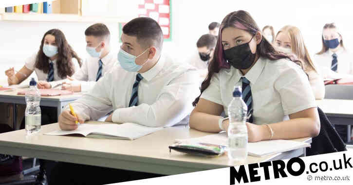 Children told to sit at the back of class if they don't wear a mask
